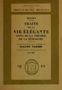 Balzac-Traité de