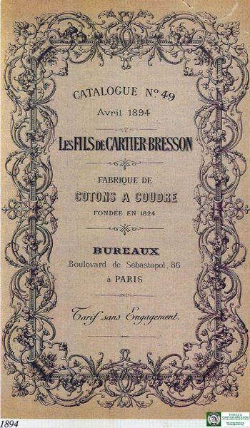 Cartier bresson 1894