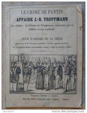 dossier Cour d'assise de la Seine
