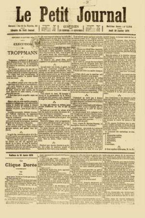 Le Petit journal 1880