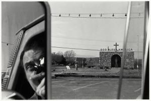 Self portrait - Lee Friedlander-1969