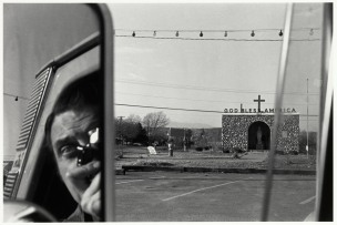 Self portrait - Lee Friedlander-1969