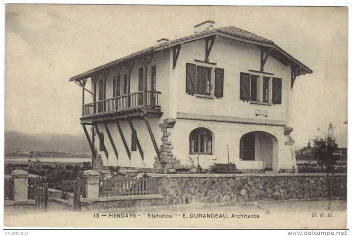 Maison Etchetoa à Hendaye-Henriette