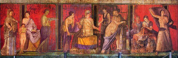 fresque-villa-Pompéi-Dyonisos