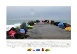 2007-La digue-Claire Forgeot-2éme Biennale Anglet-2