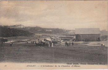 Aerodrome Chambre d'Amour-CPostale ancienne