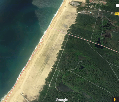 piste Turbomeca- Google maps